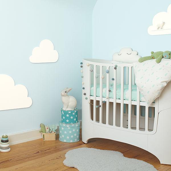 Das Beste für die Kleinsten – richtige Wandfarben und Farbgestaltung im Babyzimmer
