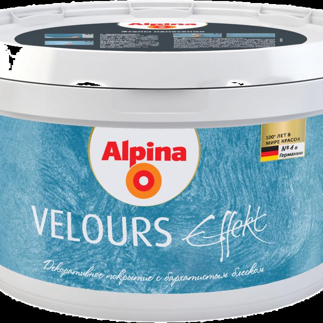 Alpina Effekt Velours - Краски Alpina