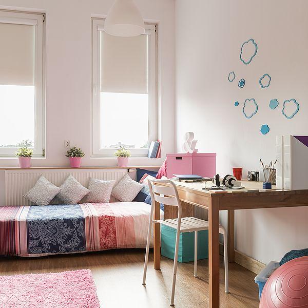 Kreativität & Konzentration: Neue Wandfarben im Kinderzimmer zur Einschulung fördern Kreativität und Konzentration