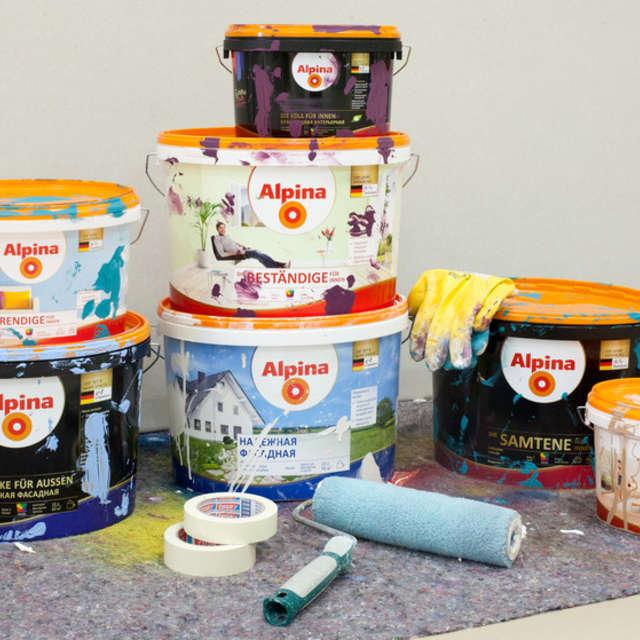 Остатки красок: утилизация, хранение и т.п. - Краски Alpina