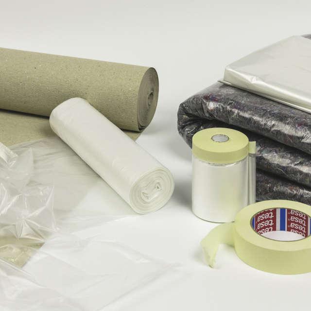 Материалы для защиты поверхностей при выполнении внутренних покрасочных работ - Краски Alpina