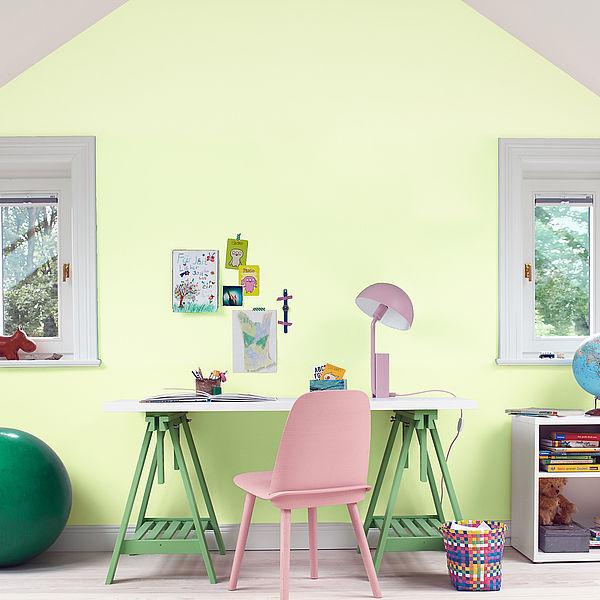 Kinderzimmer-Farbkonzepte für Mädchen und Jungen im Grundschulalter
