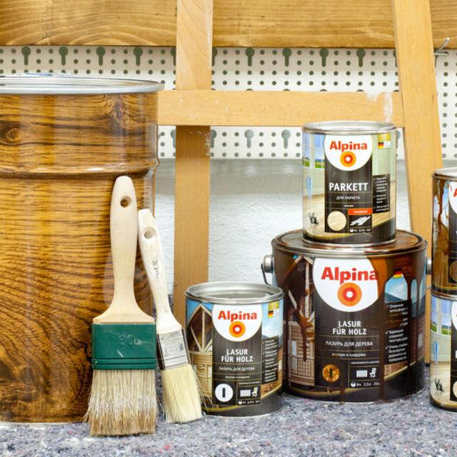 Остатки лазурей: утилизация, хранение и т.п. - Краски Alpina