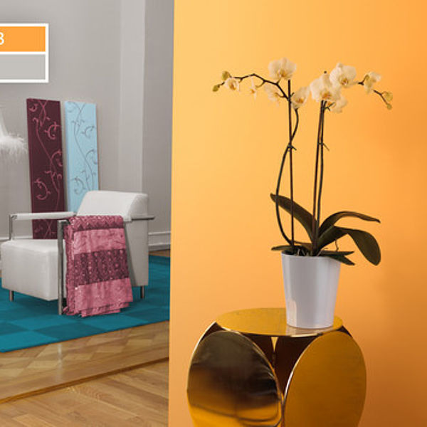 Оттенки оранжевого: яркая креативность