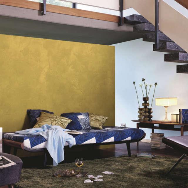 Декоративные материалы в качестве акцентов - Краски Alpina