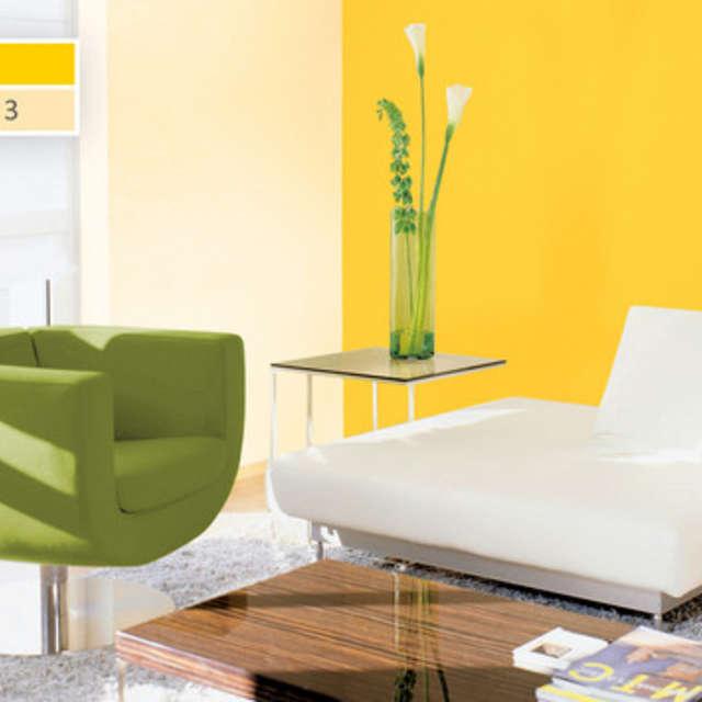 Оттенки желтого: легкие и жизнерадостные - Краски Alpina